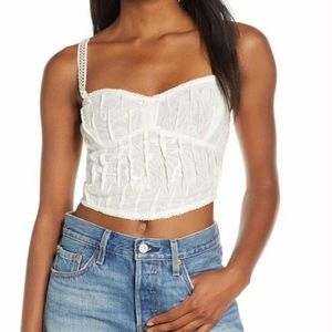 Intimately Free People All I Want Corset Camisole
